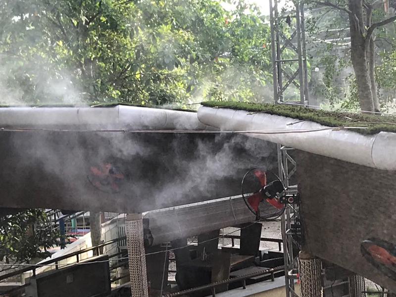 Lắp đặt máy phun sương tại Tân Bình Tân Phú