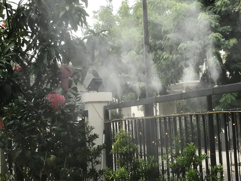 Dịch vụ lắp đặt máy phun sương tại Tân Bình Tân Phú