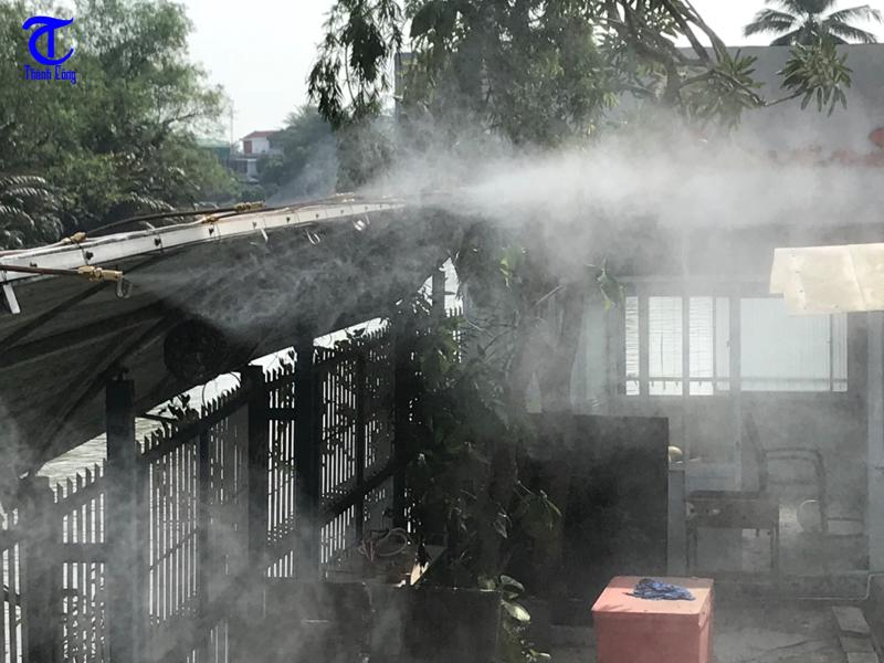 Máy phun sương tại công ty Thành Công