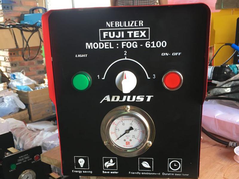 Mua máy phun sương FUJITEX FOG 6100 ở đâu rẻ tại TPHCM?