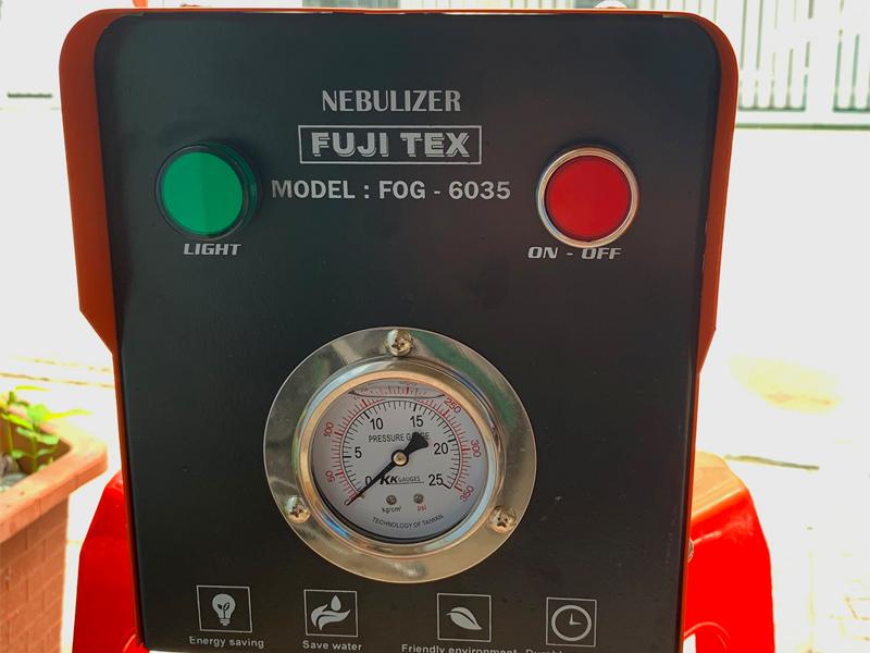 Thông số kỹ thuật của máy phun sương FUJITEX FOG 6035