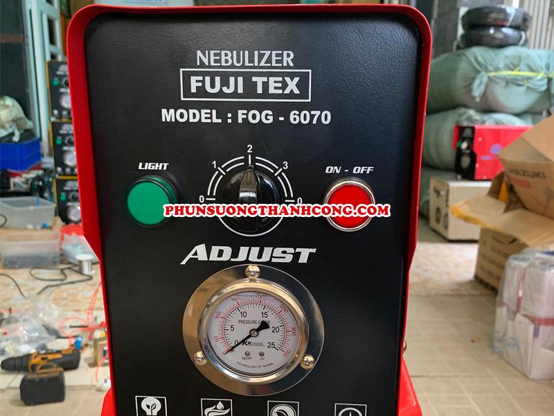 Thông số kỹ thuật của máy phun sương FUJITEX FOG 6070