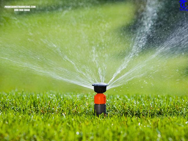 quy trình lắp đặt hệ thống tưới phun mưa