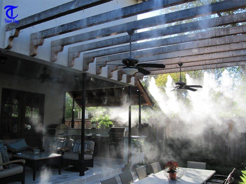 Hình ảnh hệ thống máy phun sương