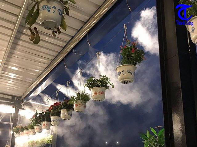 Địa chỉ lắp máy phun sương làm mát quán cafe tại Quận 3 giá rẻ