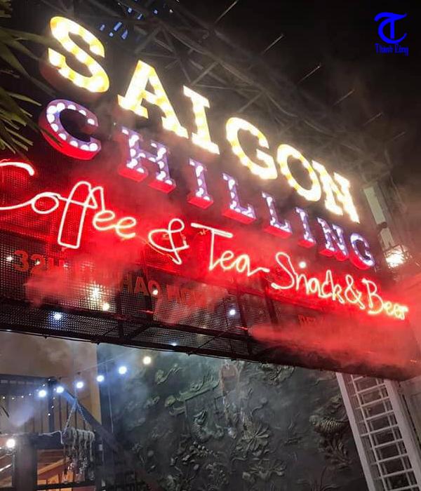 Địa chỉ lắp đặt máy phun sương làm mát quán cafe tại Quận 10 uy tín
