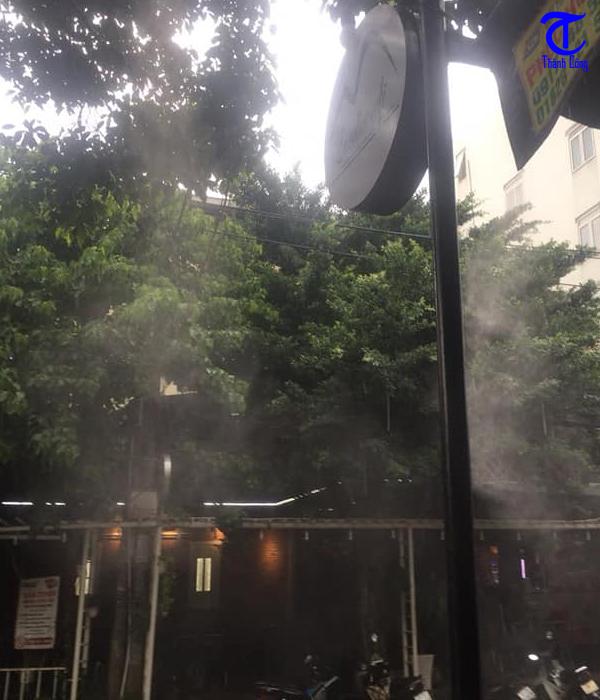 Lợi ích khi lắp đặt máy phun sương làm mát cho quán cafe
