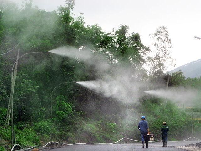 hệ thống phun sương tạo ẩm ưa chuông nhất